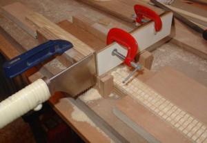 Fabrication des contre éclisses