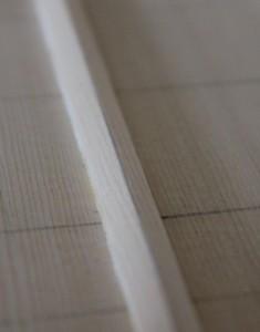Forme de toit d'une barre de l'éventail terminé