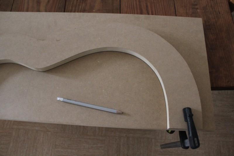 tracé des autres parties des moules à partir de la première