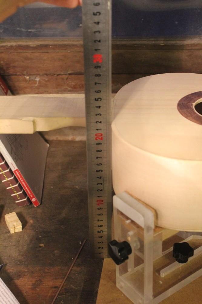 Contrôle de la planéité de la guitare