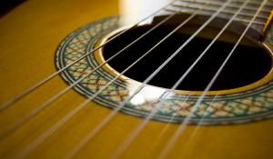 Guitare classique illustration