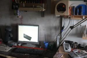 Voici le raspberry utilisé dans mon atelier