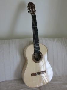 guitare terminée